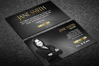Real estate agent business cards free shipping unique real estate business card w agent reheart Images