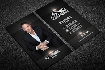 real estate agent business card design gallery - Real Estate Business Cards