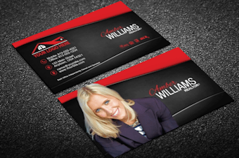 Real estate agent business cards free shipping modern classy real estate business reheart Image collections